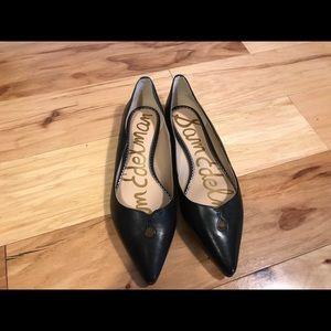 Sam Edelman black leather Rosalie flats. 8